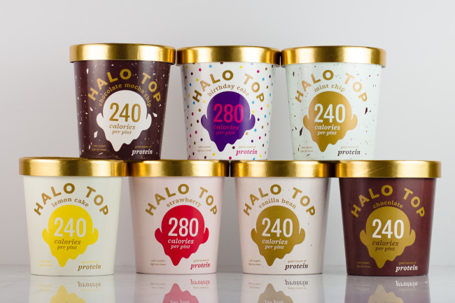 Halo Top Ice Creams